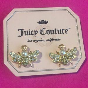 Juicy couture bee earrings